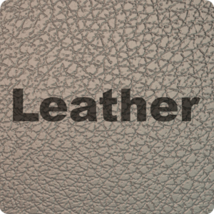 Textures with different natural leathers